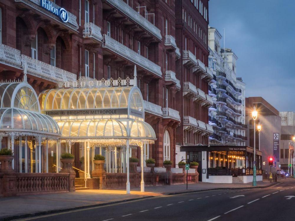 L'Hilton Metropole Hotel di Brighton nel Regno Unito