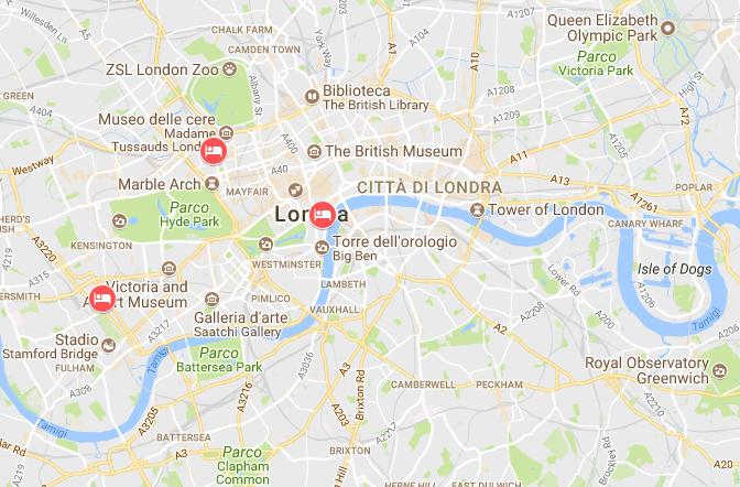 Gli hotel suggeriti dalle blogger per dormire nel centro di Londra