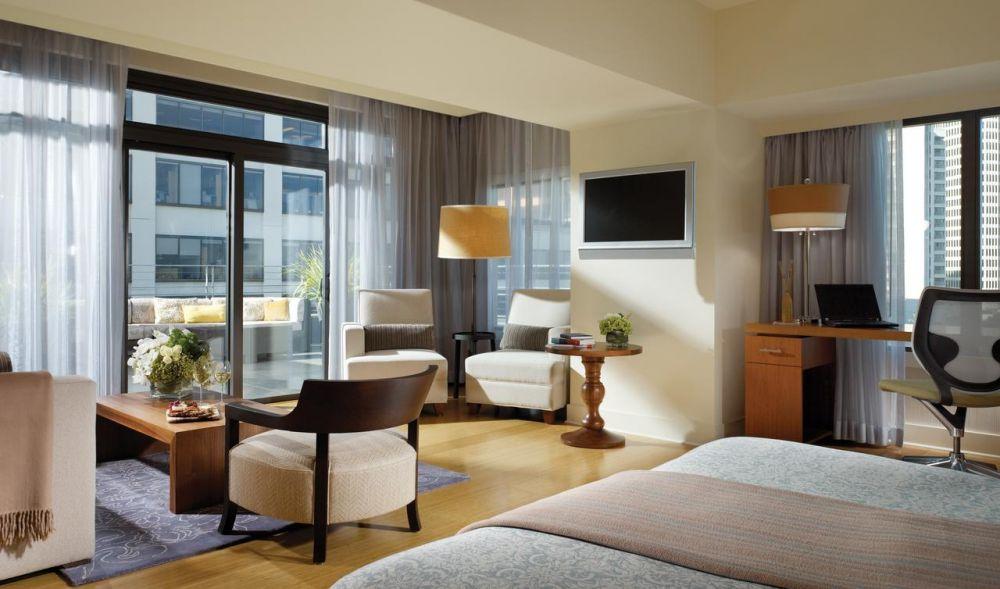 Una camera dell'Hotel Vitale – a Joie de Vivre Hotel a San Francisco