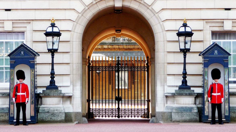 Guardie della regina a Londra