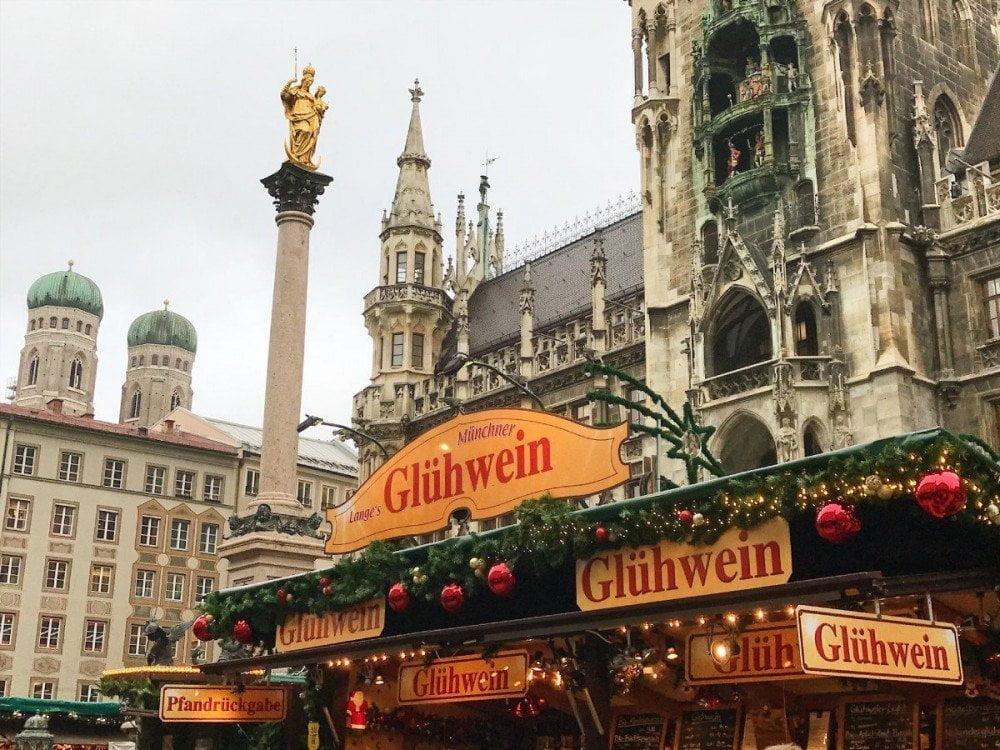Mercatino di Natale a Monaco di Baviera, foto Mark Pegrum