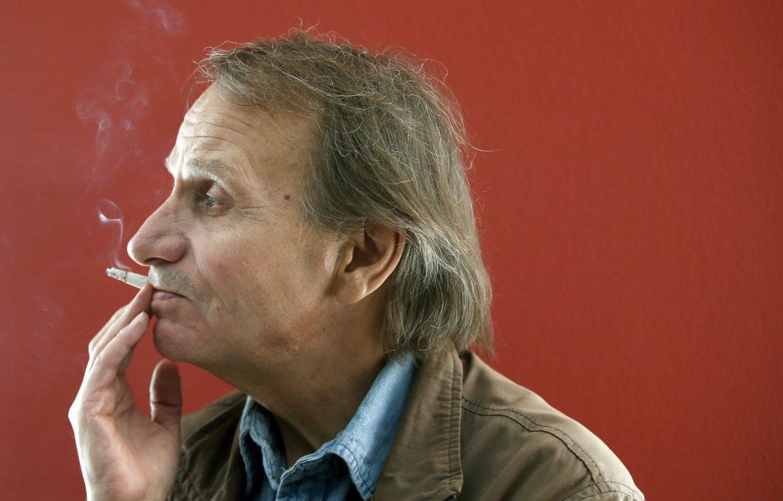 Michel Houellebecq, foto Andreu Dalmau per Lapresse