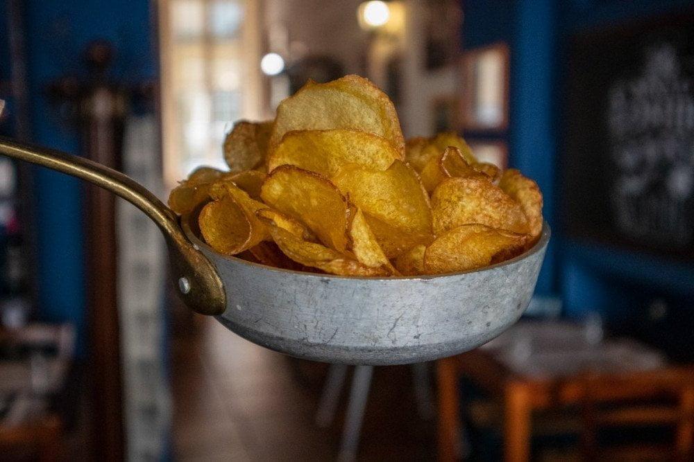 Patate fritte al ristorante argentino Milanga a Torino