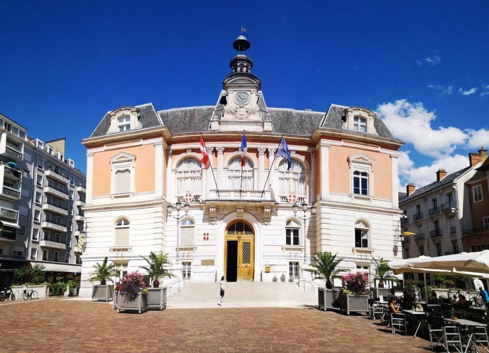 """Municipio """"Hotel de Ville"""" di Chambery"""