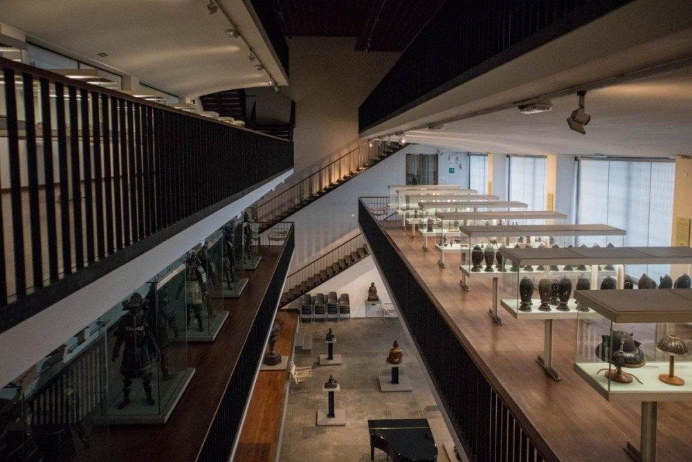Le gallerie del Museo d'Arte Orientale E. Chiossone di Genova