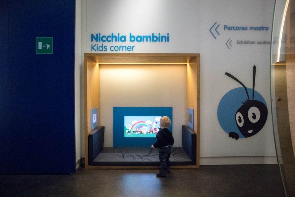 Il Britalian baby nella Nicchia Bambini al Museo del Risparmio di Torino