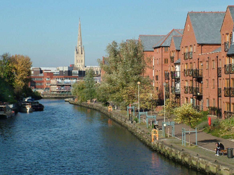 Lungofiume di Norwich