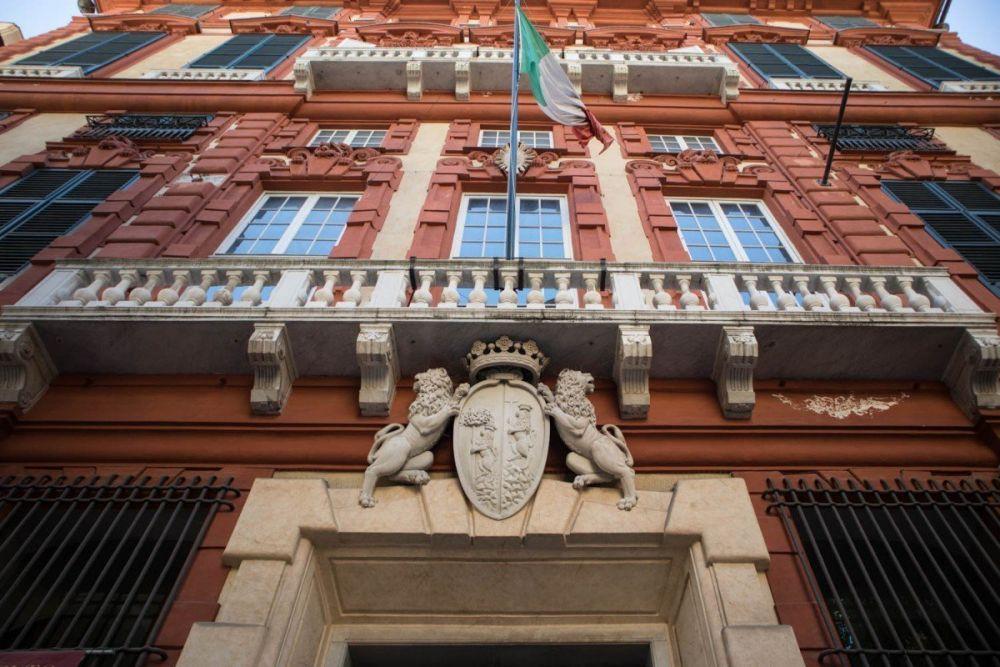Palazzo Rosso a Genova in via Garibaldi 18, Patrimonio dell'Umanità UNESCO