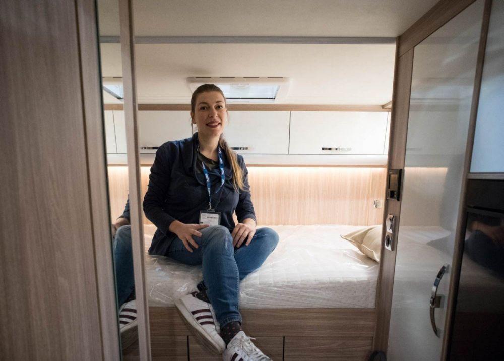 Paola Bertoni alla fiera A Tutto Camper di Torino 2019