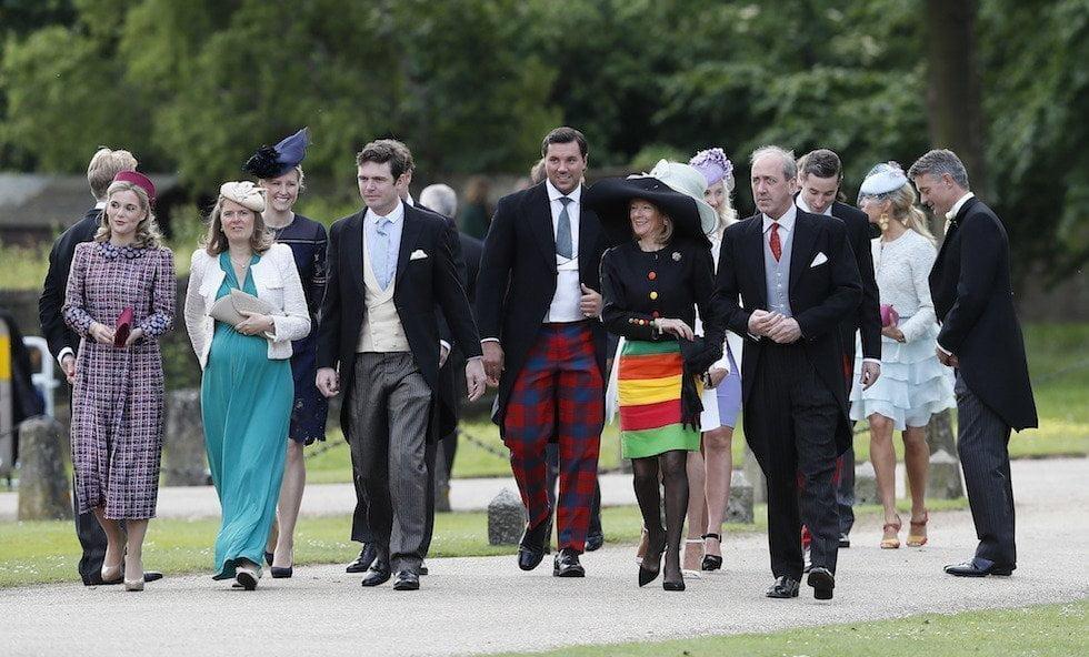 Invitati al matrimonio di Pippa Middleton