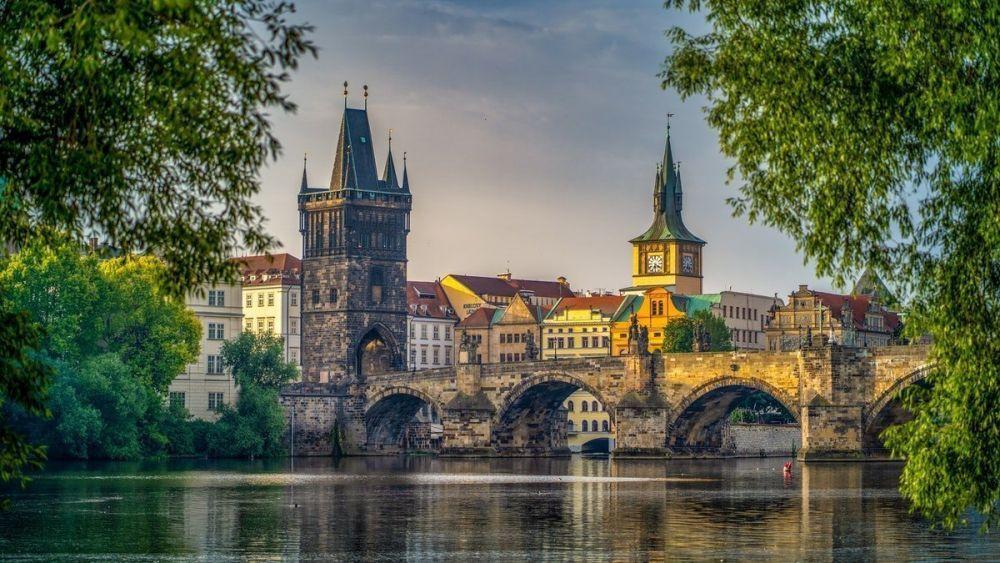La città di Praga, foto Pierre Blaché