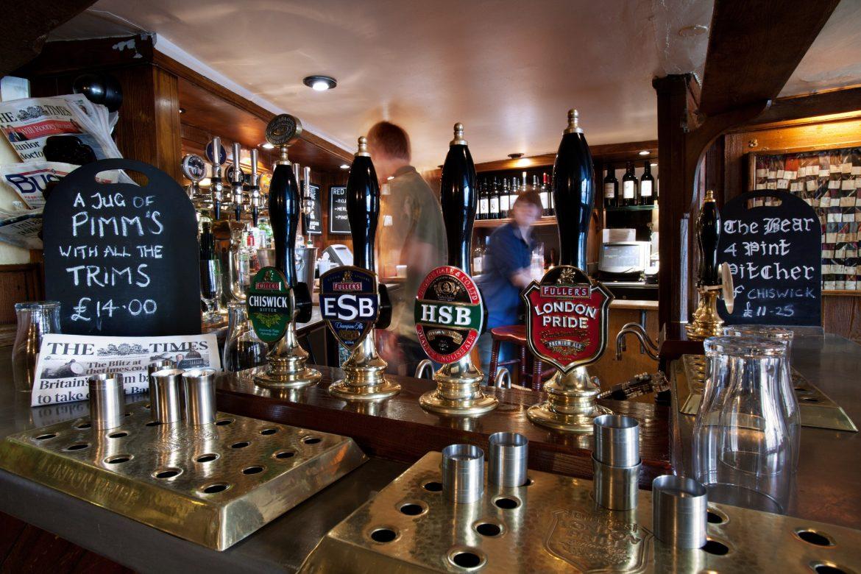 The Bear Inn a Oxford