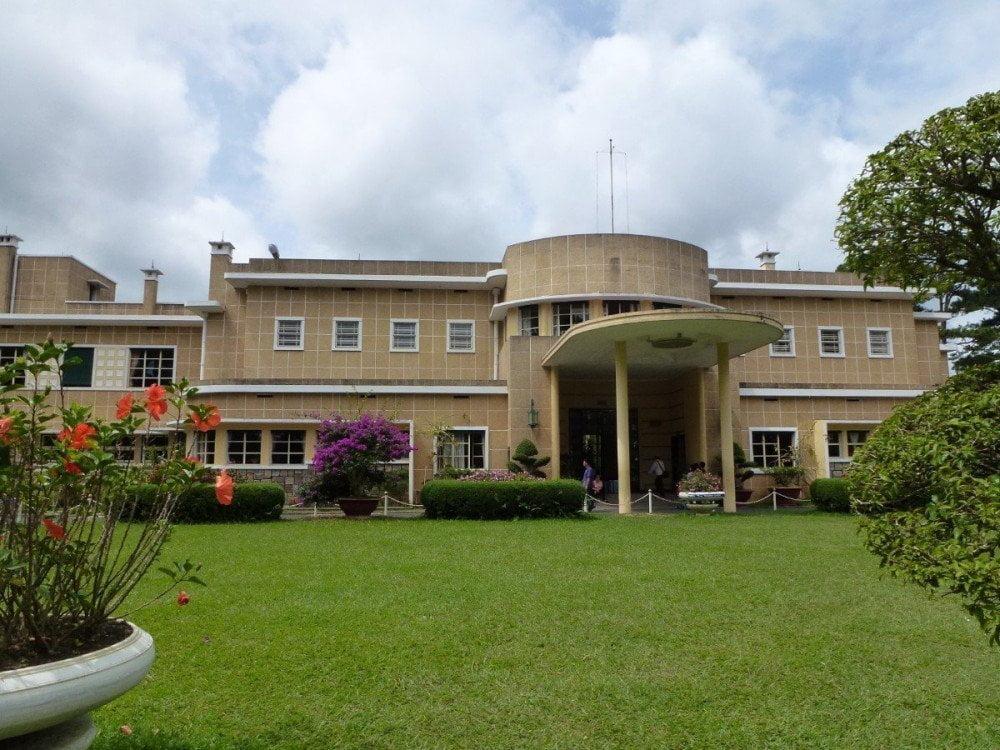 La residenza estiva dell'imperatore Bao Dai (Bao Dai Palace) a Dalat in stile art déco vietnamita