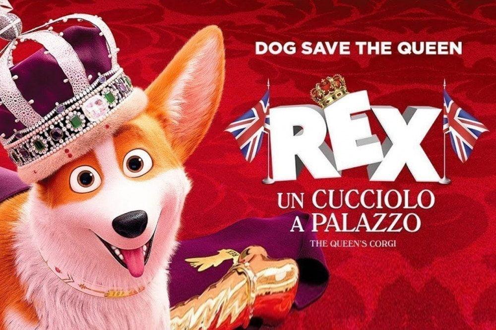 Locandina italiana di The Queen's Corgi - Rex Un Cucciolo A Palazzo