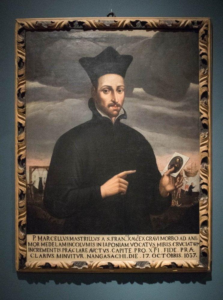 Ritratto di Marcello Mastrilli al MUDEC Museo delle Culture di Milano, olio su tela di autore ignoto