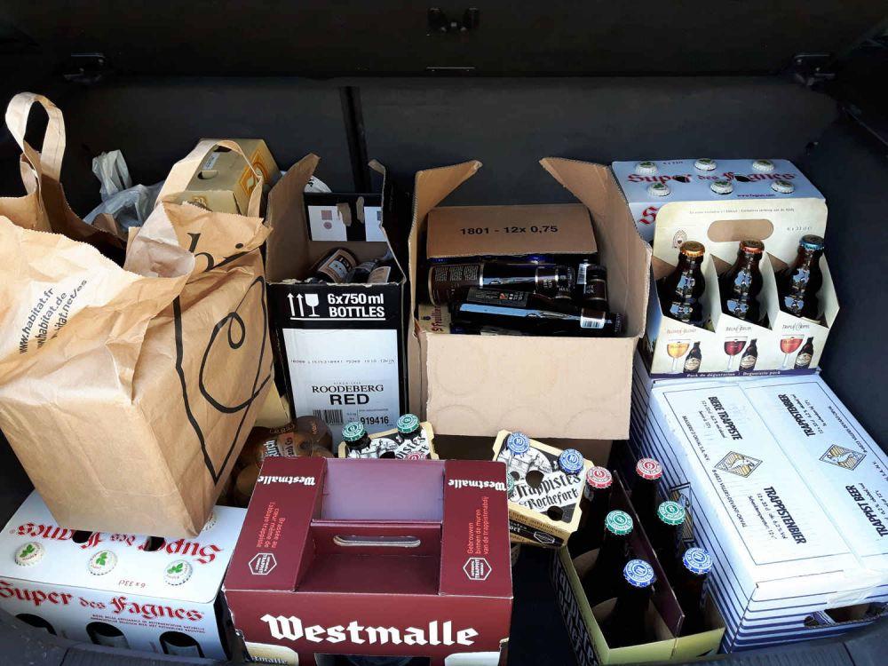 Le ultime birre acquistate come souvenir da Anna del blog Un viaggio per capello