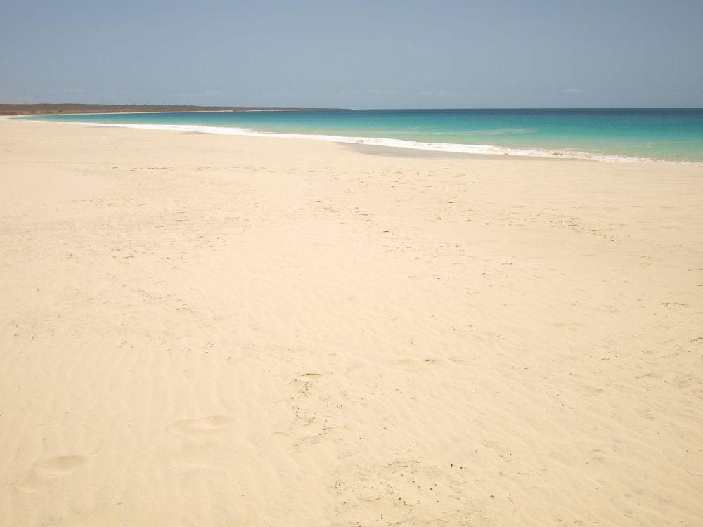 Spiaggia di Santa Monica a Boa Vista, Capo Verde