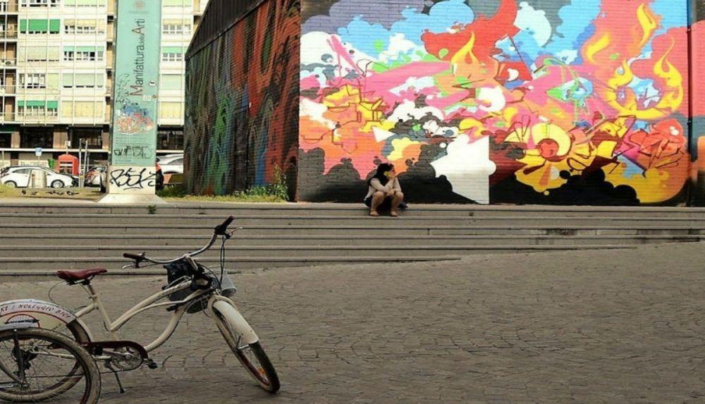 Tour in bici della street art di Bologna