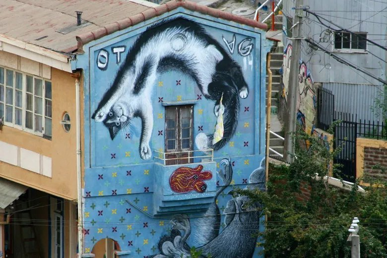 Street art a Valparaiso