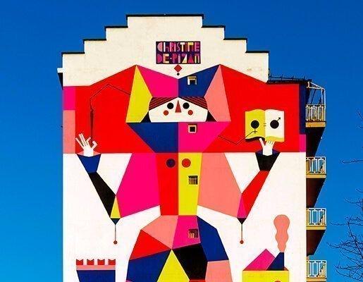 Murales Goal 5: Gender Equality di Camilla Fasini a Torino per il progetto di arte urbana TOward 2030