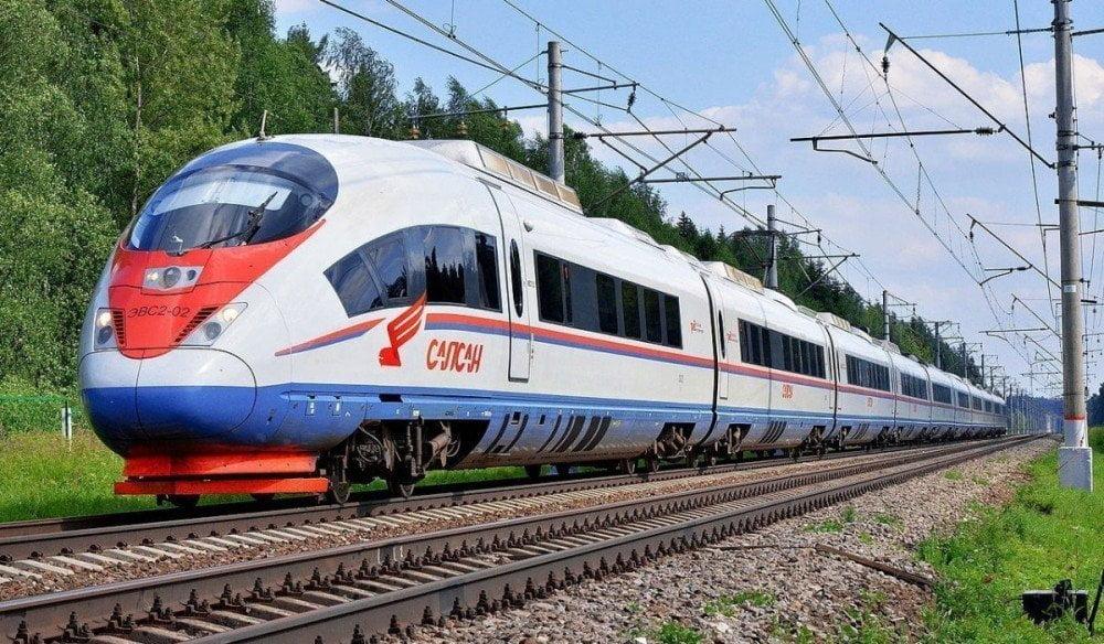 Treno da Mosca a San Pietroburgo