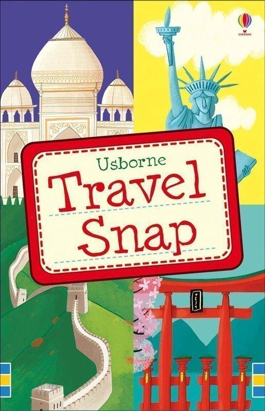 Copertina Travel Snap, gioco di carte edito da Usborne