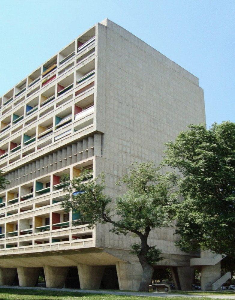 Unité d'Habitation di Le Corbusier a Marsiglia