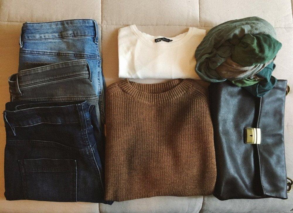 I vestiti che Silvia The Food Traveler mette in valigia a ogni viaggio