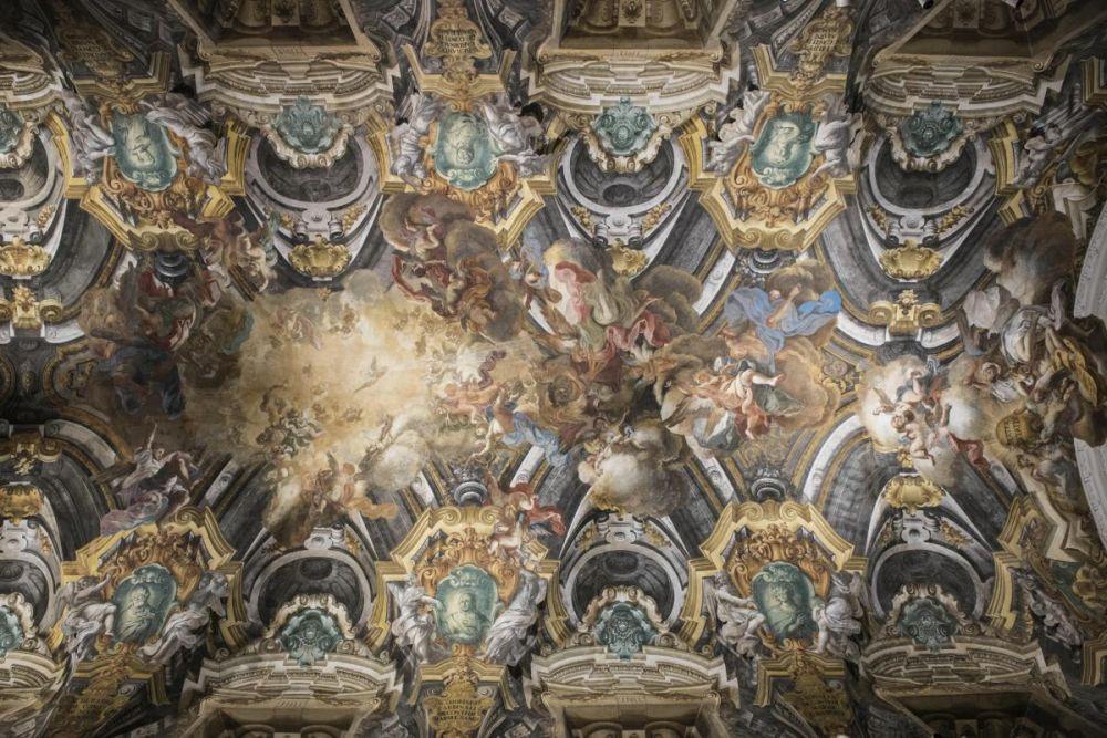 La volta della cappella Sansevero a Napoli